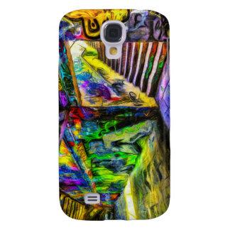 Coque Galaxy S4 Graffiti Van Gogh de Londres