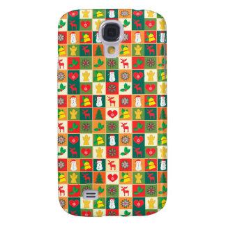 Coque Galaxy S4 Grand motif de Noël