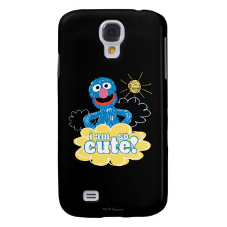 Coque Galaxy S4 Grover mignon