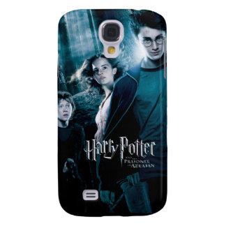 Coque Galaxy S4 Harry Potter Ron Hermione dans la forêt