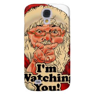 Coque Galaxy S4 Illustration de observation d'Im vous-père Noël