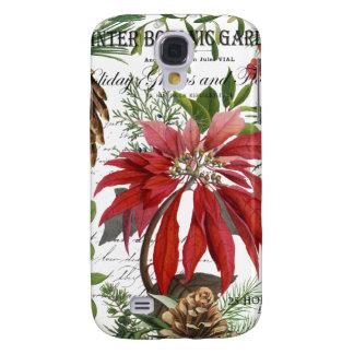 Coque Galaxy S4 Jardin d'hiver vintage moderne floral