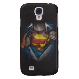 Coque Galaxy S4 Le coffre de Superman   indiquent le croquis