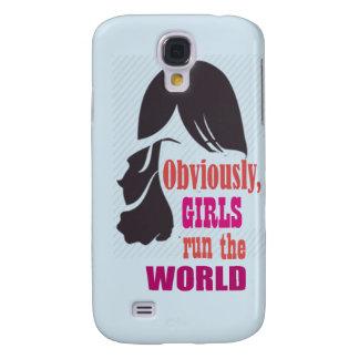 Coque Galaxy S4 Les filles courent le cas mobile de Samsung du