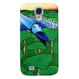 Coque Galaxy S4 l'oiseau bleu