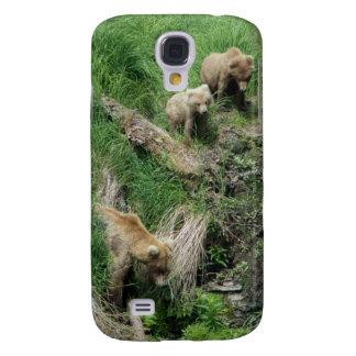 Coque Galaxy S4 L'ours 128 Grazer et deux CUB téléphonent le cas