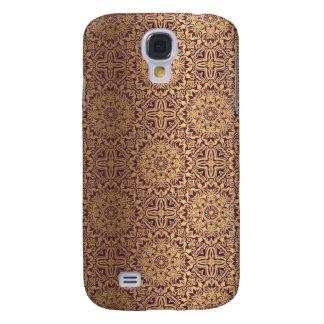 Coque Galaxy S4 Motif antique royal de luxe floral