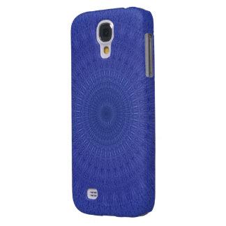 Coque Galaxy S4 Motif bleu abstrait