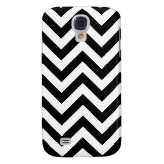 Coque Galaxy S4 Motif noir et blanc de Chevron