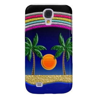 Coque Galaxy S4 Paradis de plage d'été
