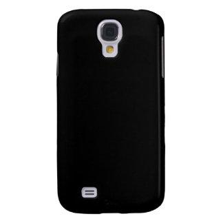 Coque Galaxy S4 Personnaliser simplement noire de couleur solide