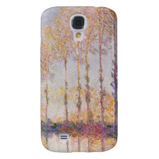 Coque Galaxy S4 Peupliers de Claude Monet | sur les banques de