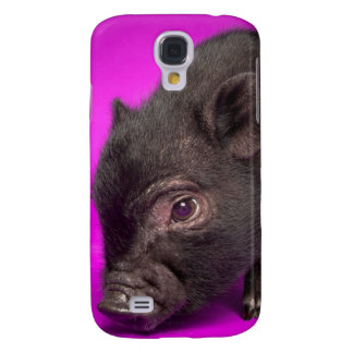 Coque Galaxy S4 Porc noir de bébé