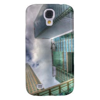 Coque Galaxy S4 Quai jaune canari Londres