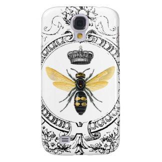Coque Galaxy S4 Reine des abeilles française VINTAGE MODERNE