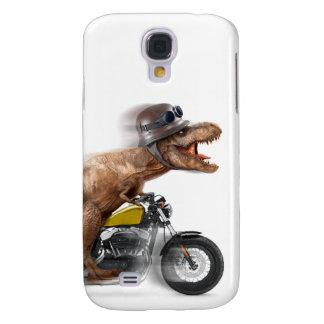 Coque Galaxy S4 Rex de moto-tyrannosaurus-t de rex de T -