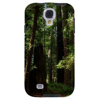 Coque Galaxy S4 Séquoias et fougères au parc national de séquoia
