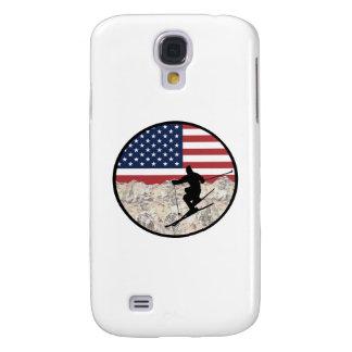 Coque Galaxy S4 Ski Amérique