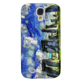 Coque Galaxy S4 Stonehenge Vincent van Gogh