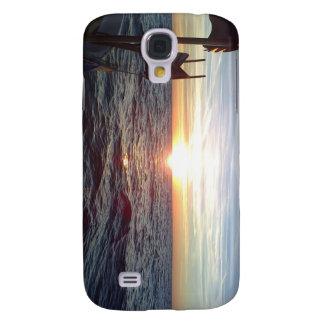 Coque Galaxy S4 Surpassez les photos Sun et la mer, bateau