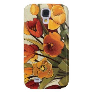 Coque Galaxy S4 Temps de tulipe