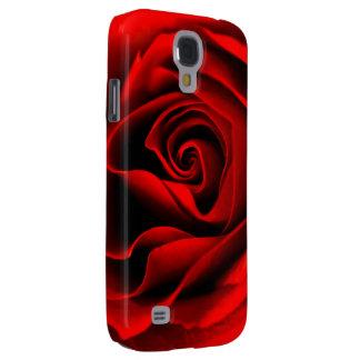 Coque Galaxy S4 Texture rose