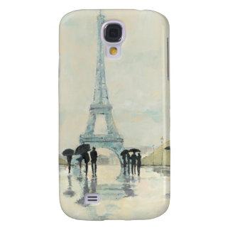 Coque Galaxy S4 Tour Eiffel | Paris sous la pluie