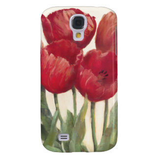Coque Galaxy S4 Tulipes rouges