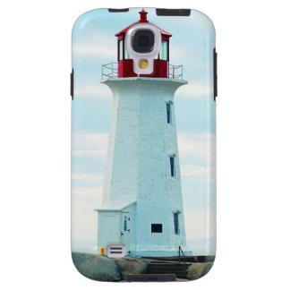Coque Galaxy S4 Vieux phare, océan bleu, maritime, nautique
