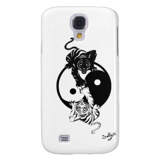 Coque Galaxy S4 Ying yang tiger