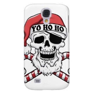 Coque Galaxy S4 Yo ho ho - pirate père Noël - le père noël drôle