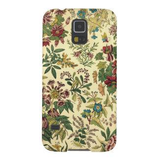 Coque Galaxy S5 Abondance florale démodée