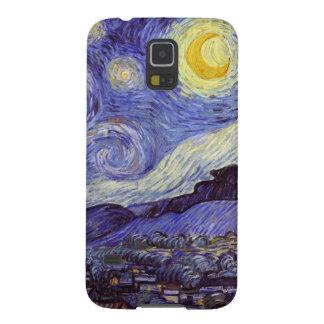 Coque Galaxy S5 Beaux-arts de cru de nuit étoilée de Vincent van