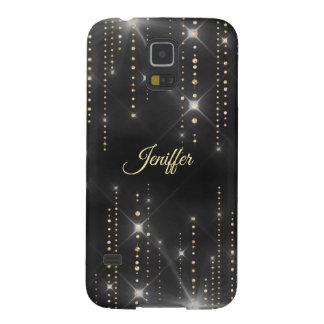 Coque Galaxy S5 Caisse de confettis d'étincelle
