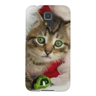 Coque Galaxy S5 Chat de Noël - chat de chaton - chats mignons