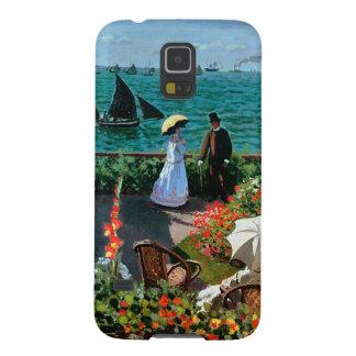 Coque Galaxy S5 Claude Monet | la terrasse chez Sainte-Adresse,