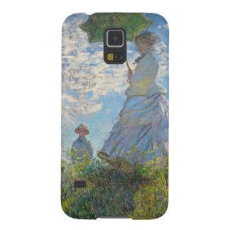Coque Galaxy S5 Femme de Claude Monet | avec un parasol