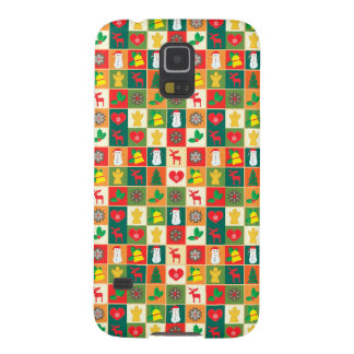 Coque Galaxy S5 Grand motif de Noël