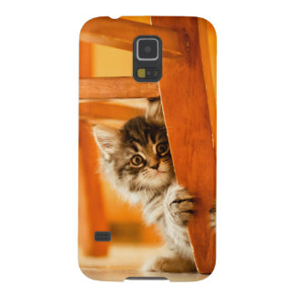 Coque Galaxy S5 Kitty sous la chaise