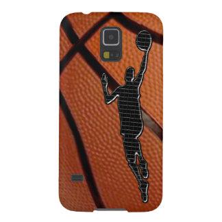 Coque Galaxy S5 Le téléphone de basket-ball enferme des caisses de