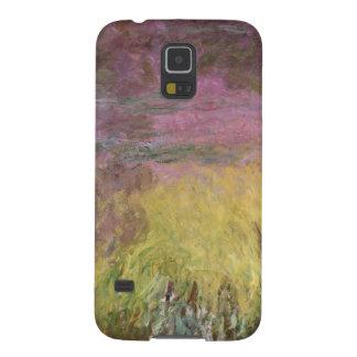Coque Galaxy S5 Nénuphars de Claude Monet | au coucher du soleil