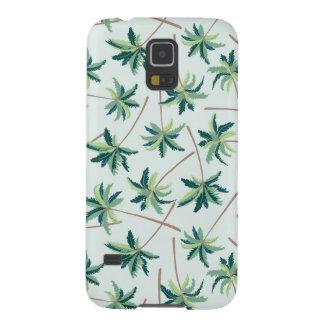 Coque Galaxy S5 Paume australienne tropicale de vulpin