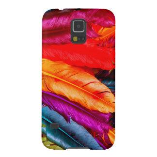Coque Galaxy S5 Plumes