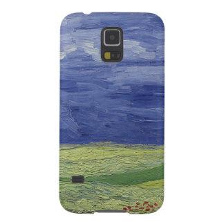 Coque Galaxy S5 Wheatfields de Vincent van Gogh | sous le nuage