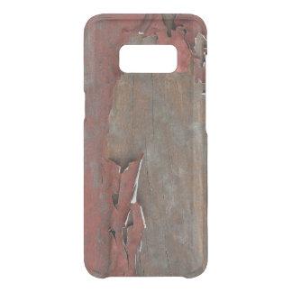 Coque Get Uncommon Samsung Galaxy S8 Bois rouge vintage de grange