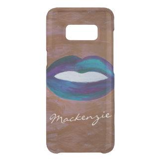 Coque Get Uncommon Samsung Galaxy S8 Diva nommée amoureuse de rouge à lèvres du baiser