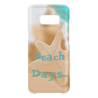 Coque Get Uncommon Samsung Galaxy S8 Étoiles de mer les jours de plage
