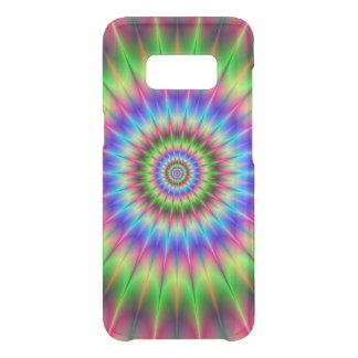 Coque Get Uncommon Samsung Galaxy S8 Explosion en épi de couleur