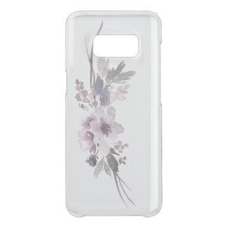 Coque Get Uncommon Samsung Galaxy S8 Galaxie grise 8 de Samsung d'orchidée pourpre