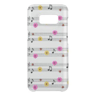 Coque Get Uncommon Samsung Galaxy S8 La musique note le cas de Samsung Clearly™